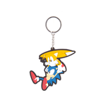 Sega - Sonic And Tails Rubber Keychain