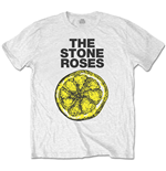 The Stone Roses T-shirt  - Lemon 1989 Tour Special Edition White