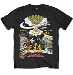 Green Day T-shirt - 1994 Tour Special Edition Black