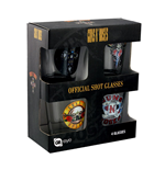 Guns N' Roses Shot Glass Set - Mix