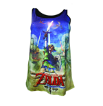 Zelda - Skyward Sword - Sublimated Female Top