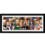 Doctor Who Framed Picture 11 Doctors