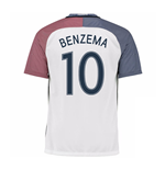 2016-17 France Away Shirt (Benzema 10)
