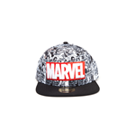 Marvel - Classic Red and White Logo Snapback