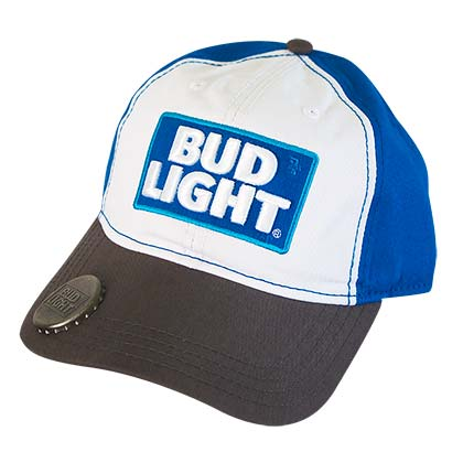BUD LIGHT Two-Tone Bottle Opener Hat
