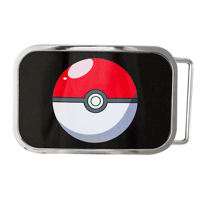 POKEMON Pokeball Belt Buckle