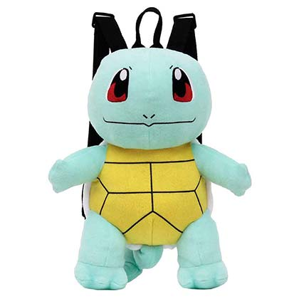 POKEMON Squirtle Plush Backpack