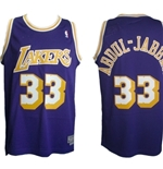 Los Angeles Lakers Kareem ABDUL-JABBAR Jersey