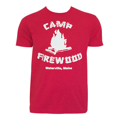 WET HOT AMERICAN SUMMER Camp Firewood Tee Shirt