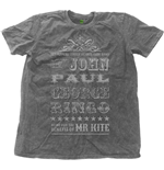 The Beatles Men's Fashion Tee: Mr Kite