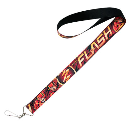 The FLASH Red Comic Book Lanyard