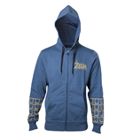 Zelda Breath of the Wild - Gold Game Logo Hoodie