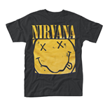 Nirvana T-shirt Box Smiley