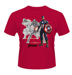 Marvel Avengers Age Of Ultron T-shirt Captain A Draw