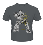 Marvel Avengers Age Of Ultron T-shirt Iron Man Splash