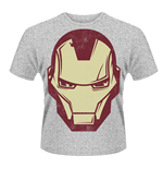 Marvel Avengers Assemble T-shirt Iron Man Mask
