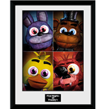 Five Nights at Freddy's Framde Print - Quad 30x40 Cm