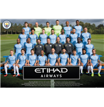 Manchester City FC Poster - Team Photo 16/17 - 61x91,5 Cm