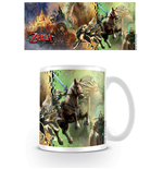 Legend of Zelda Twilight Princess Mug Characters