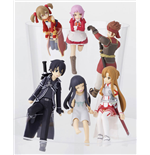 Sword Art Online Putitto Series Trading Figure 6 cm Assortment (8)