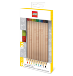 LEGO Colored Pencils 9-Pack Bricks
