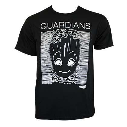 GUARDIANS OF THE GALAXY Groot Stripes Tee Shirt