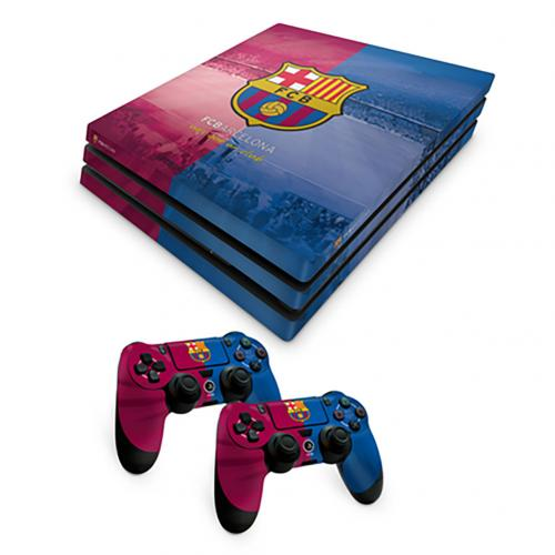 Official F.C. Barcelona PS4 Pro Skin Bundle  Buy Online on Offer 8fd34231419