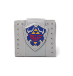 NINTENDO Legend of Zelda Hylian Shield Bi-Fold Wallet, One Size, Light Grey