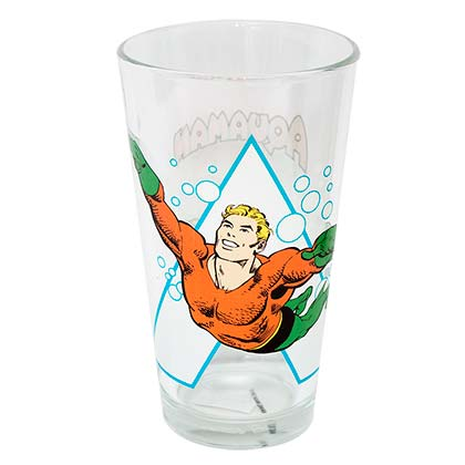 AQUAMAN Pint Glass