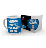 Big Bang Theory Mug - Sheldon Cooper Apologised