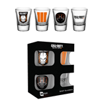 Call Of Black Ops 3  Set of 4 shotglasses