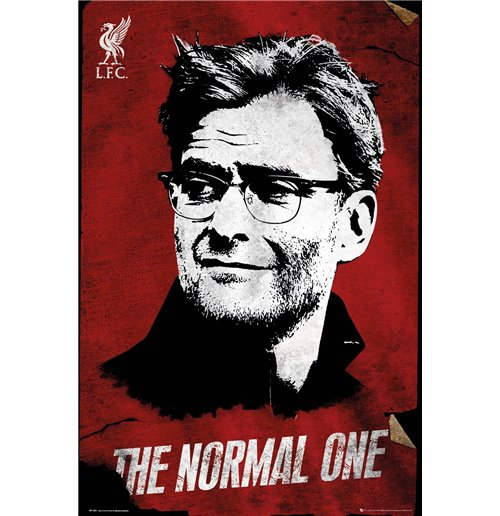 Liverpool FC Poster - The Normal One 61x91,5 Cm