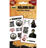 The Walking Dead TemporaryTattoos - Characters