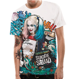 Suicide Squad Sublimation T-Shirt Grafitti
