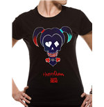 Suicide Squad Ladies T-Shirt Harley Quinn Black
