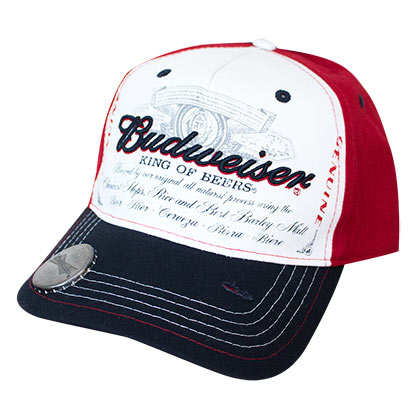 BUDWEISER Genuine Bottle Opener Hat