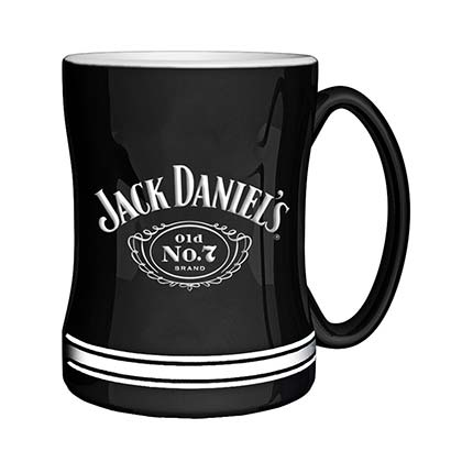 JACK DANIELS Sculpted Relief Mug