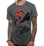 Daredevil - Rooftop - Unisex T-shirt Grey