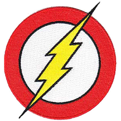 FLASH Embroidered Patch
