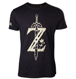 The Legend of Zelda Breath of the Wild T-Shirt Z Sword