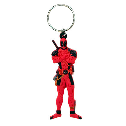 DEADPOOL Figurine Keychain