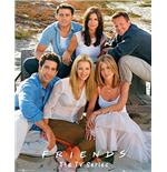 Friends Poster - Cast 40x50 Cm