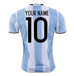 2016-17 Argentina Home Shirt (Your Name)
