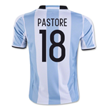2016-17 Argentina Home Shirt (Pastore 18)
