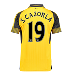 2016-17 Arsenal Away Shirt (S.Cazorla 19)