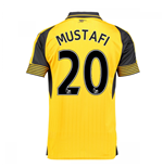 2016-17 Arsenal Away Shirt (Mustafi 20)