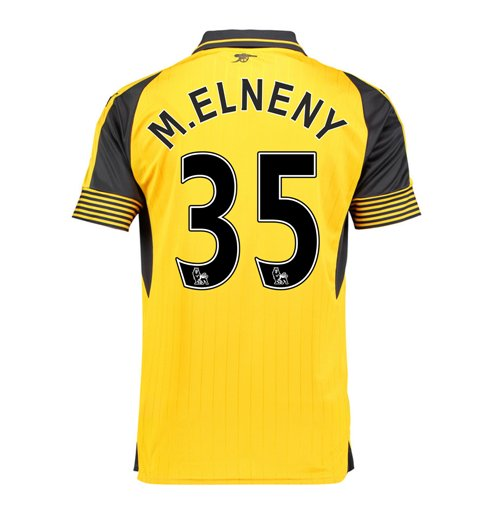 2016-17 Arsenal Away Shirt (M.Elneny 35) - Kids