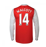 2016-17 Arsenal Long Sleeve Home Shirt (Walcott 14)