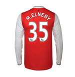 2016-17 Arsenal Long Sleeve Home Shirt (M.Elneny 35)