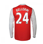 2016-17 Arsenal Long Sleeve Home Shirt (Bellerin 24)